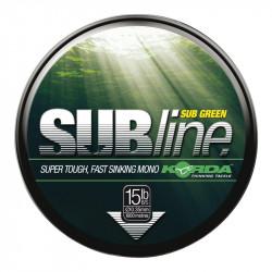 Żyłka Korda Subline 1000m GREEN - 0.30mm // 10lb