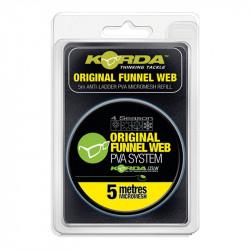 Korda PVA REFILL - Original Funnel Web - MICROMESH 5m