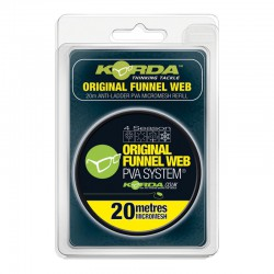 Korda PVA REFILL - Original Funnel Web - MICROMESH 20m