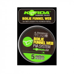 Korda PVA REFILL - Boilie Funnel Web - HEX 5m