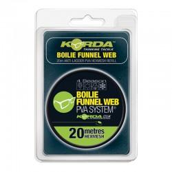 Korda PVA REFILL - Boilie Funnel Web - HEX 20m