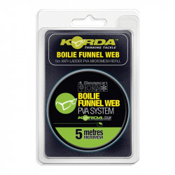 Korda PVA REFILL - Boilie Funnel Web - MICROMESH 5m