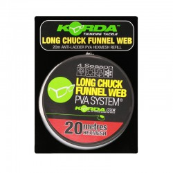 Korda PVA REFILL - Long Chuk Funnel Web - HEX 20m