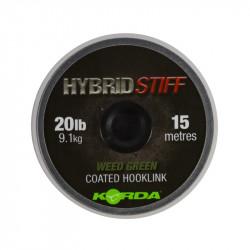Materiał przyponowy Korda Hybrid Stiff 15m - 20lb