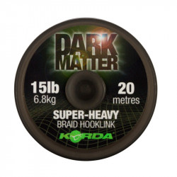 Materiał przyponowy Korda Dark Matter Braid Hooklink 20m