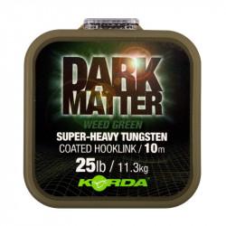 Materiał przyponowy Korda Dark Matter Super-Heavy Tungsten Hooklink 10m