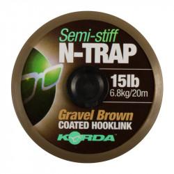 Materiał przyponowy Korda N-Trap Semi Stiff 20m