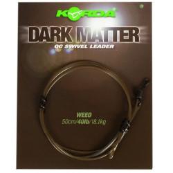 Zestaw Korda Dark Matter Quick Change Swivel Leader - 40lb