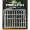 Stopery do przynęt Korda Extenda Stops - Clear