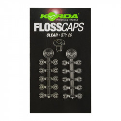 Stopery Korda Floss Caps - CLEAR