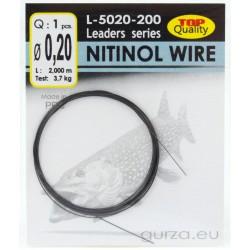 Drut przyponowy GURZA Nitol Wire 2m - 0.2mm / 3.7kg