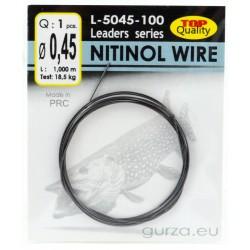 Drut przyponowy GURZA Nitol Wire 1m - 0.45mm / 18.5kg