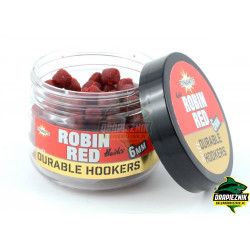 Dynamite Baits Soft Durable Hookers 6mm - Robin Red