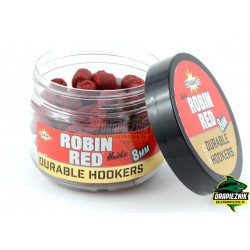 Dynamite Baits Soft Durable Hookers 8mm - Robin Red