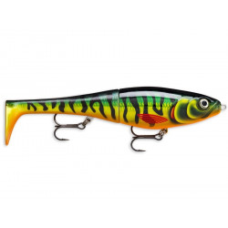 Rapala X-Rap Peto Hybryda 14cm - HTIP / Hot Tiger Pike