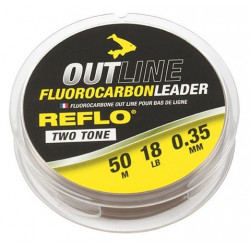 Leader Avid Outline Fluorocarbon Leader 50m