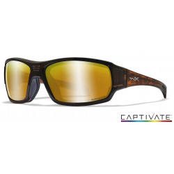 Okulary Wiley X Captivate - BREACH Polaraized Bronze Mirror