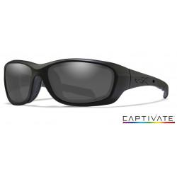 Okulary Wiley X Captivate - GRAVITY Polaraized Smoke Grey