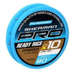 Przypony Flagman Sherman Pro Bream 80cm