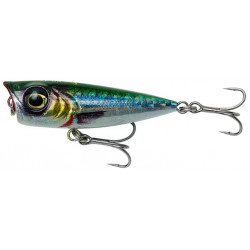 Savage Gear 3D Minnow Popper 4.3cm - Ghost Sardine