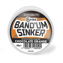Sonubaits Band'Um Sinker 6mm - Chocolate & Orange