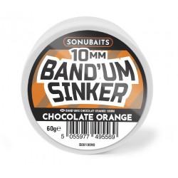 Sonubaits Band'Um Sinker 10mm - Chocolate & Orange