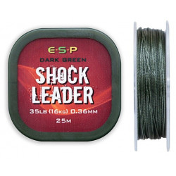 Shock Leader ESP 25m - OLIVE GREEN // 0.36mm