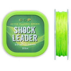 Shock Leader ESP 25m - Hi-Vis Fluoro Green // 0.36mm