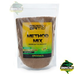 Zanęta Feeder Bait Method Mix 800g - Epidemia DARK