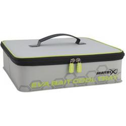 Zestaw Matrix EVA Bait Cool Tray Light Grey Inc. 4 Tubs