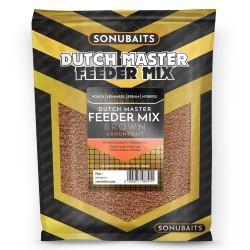 Sonubaits Dutch Master Feeder Mix 2kg - BROWN