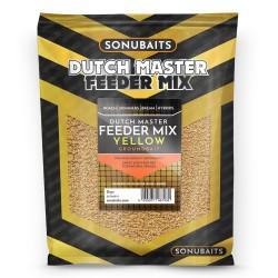 Sonubaits Dutch Master Feeder Mix 2kg - YELLOW