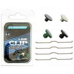 Klipsy do kołowrotków Flagman Line Clip Set