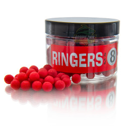 Kulki Ringers Shellfish Boilies - Red 8mm