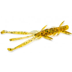 "FishUp Shrimp 3.6"" - 036 Caramel/Green & Black"
