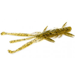 "FishUp Shrimp 3.6"" - 074 Green Pumpkin Seed"