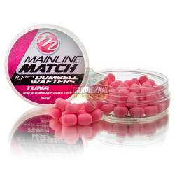 Mainline Match Dumbell Wafters 10mm - Tuna