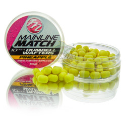 Mainline Match Dumbell Wafters 10mm - Pineapple