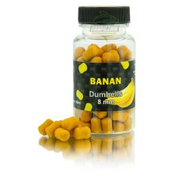 MC KARP Dumbells 8mm - Banan /SERIA LIMITOWANA/