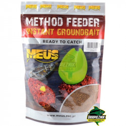 Zanęta MEUS Method Feeder Instant Groundbait 700g - Czekolada & Marcepan