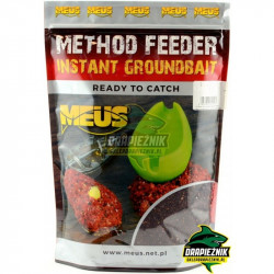Zanęta MEUS Method Feeder Instant Groundbait 700g - Czekolada & Orzech