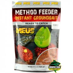 Zanęta MEUS Method Feeder Instant Groundbait 700g - Czekolada & Pomarańcza