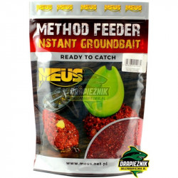 Zanęta MEUS Method Feeder Instant Groundbait 700g - Miód & Malina
