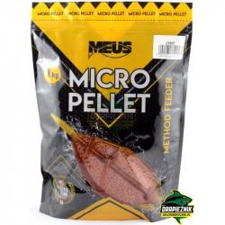 Pellet MEUS Durus Micropellet 1kg 2mm - Czekolada & Pomarańcza