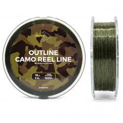 Żyłka Avid Carp Outline Camo Reel Line 1000m