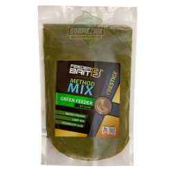 Zanęta Feeder Bait PRESTIGE Method Mix 800g - Green Feeder Betaine