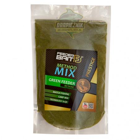 Zanęta Feeder Bait PRESTIGE Method Mix 800g - Green Feeder Betaine