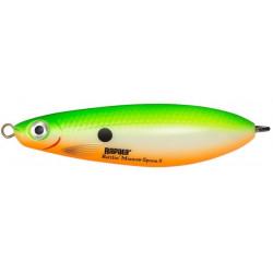 Rapala Rattlin Minnow Spoon 8cm - Green Shad UV