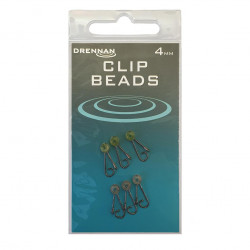 Agrafka Drennan Clip Beads - Mix 4mm
