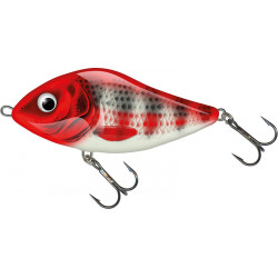 Salmo Slider 12,0cm Sinking - RHS / Red Head Striper